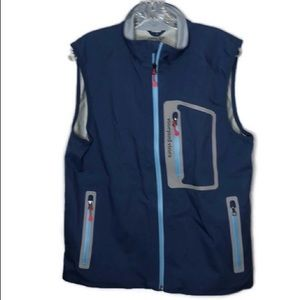 Men's Vineyard Nylon Vines Vest. Size Small.